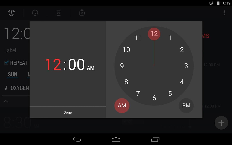 Kitkat Clock - Imagem 1 do software
