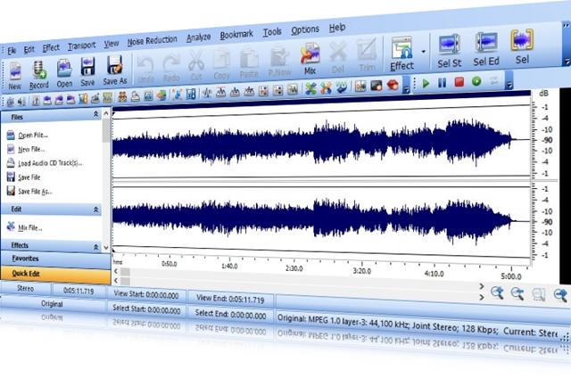 Sound Editor Pro - Imagem 1 do software