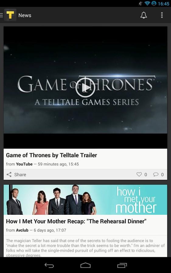 TVShow Time, guia de séries - Imagem 1 do software