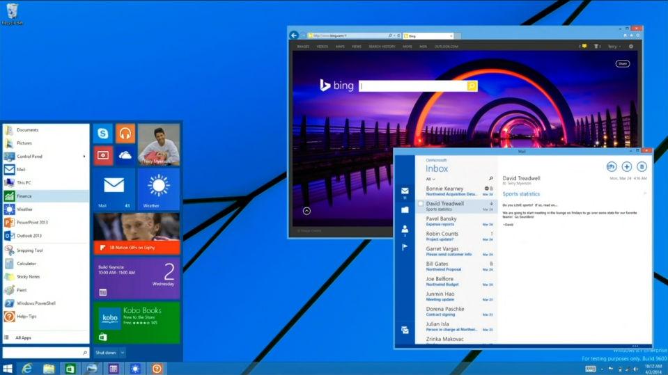 Bomba: Microsoft está trazendo o Menu Iniciar de volta ao