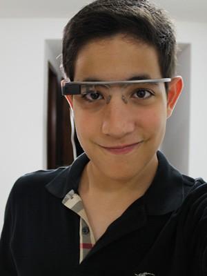 b7a685035adb1 Google Glass  jovem de 14 anos do DF planeja aplicativos para blog ...