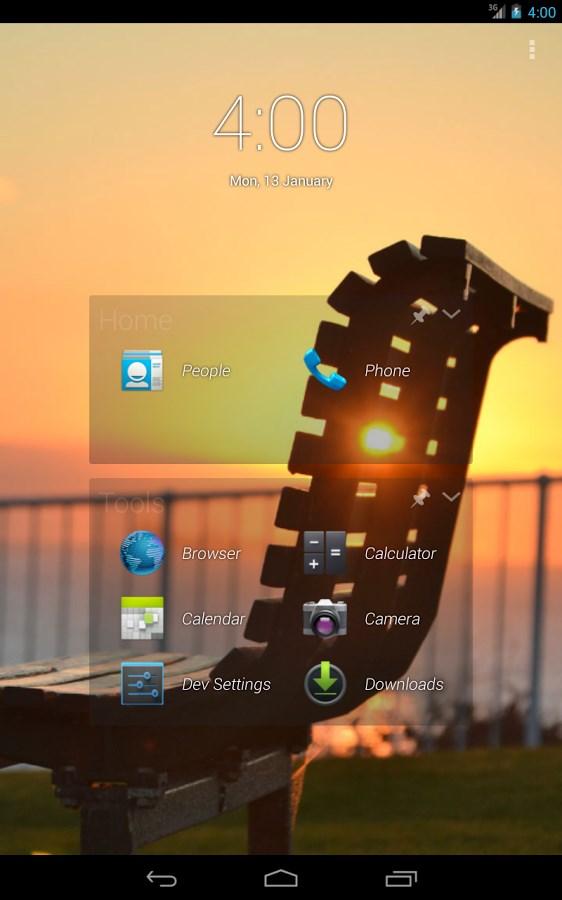 2tap Launcher - Imagem 1 do software