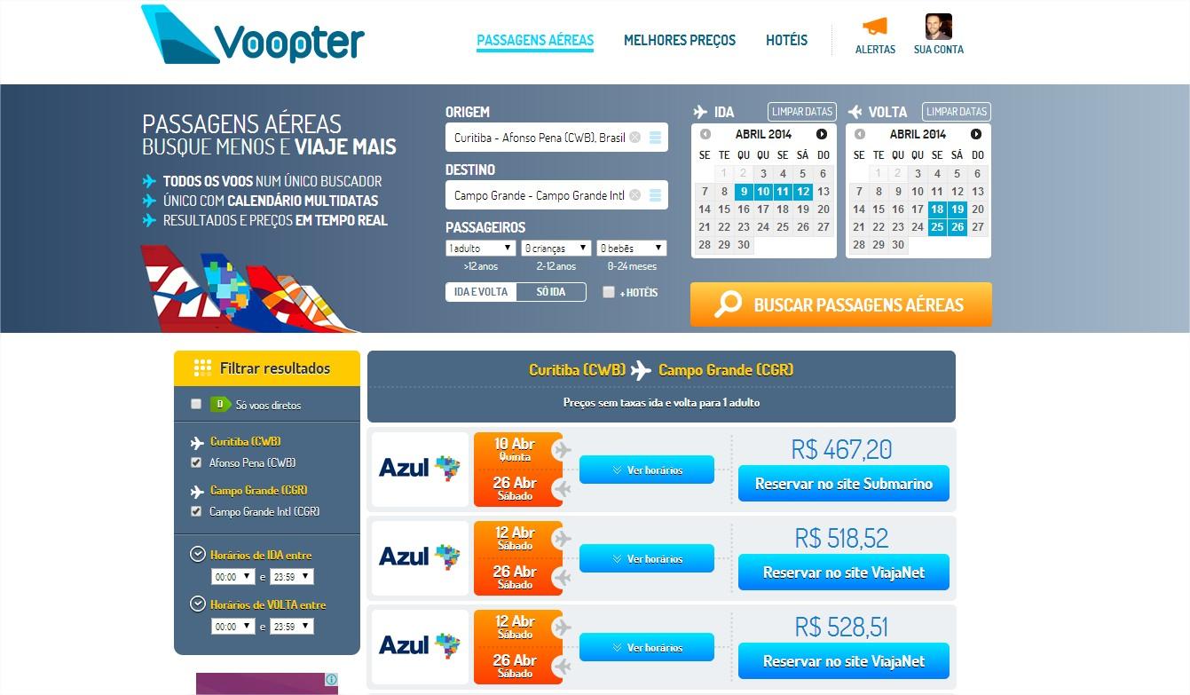 Voopter - Imagem 1 do software