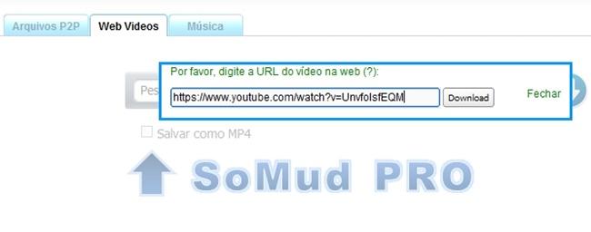 SoMud - Imagem 2 do software