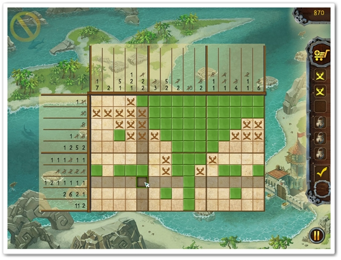 Fill & Cross. Pirate Riddles - Imagem 2 do software