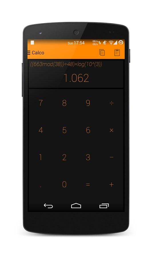 Calco – Holo Calculator - Imagem 1 do software