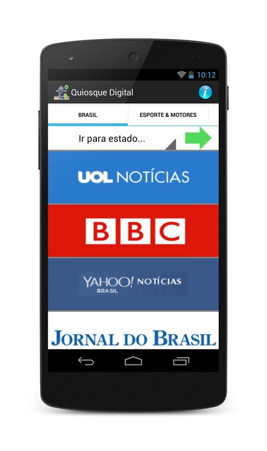 Quiosque Digital - Brasil - Imagem 1 do software