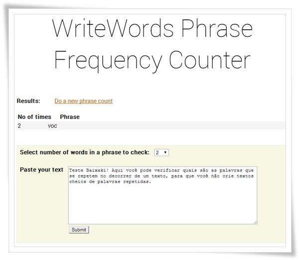 Word Frequency Counter - Imagem 1 do software