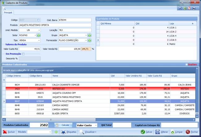 Nano Commerce - Imagem 1 do software