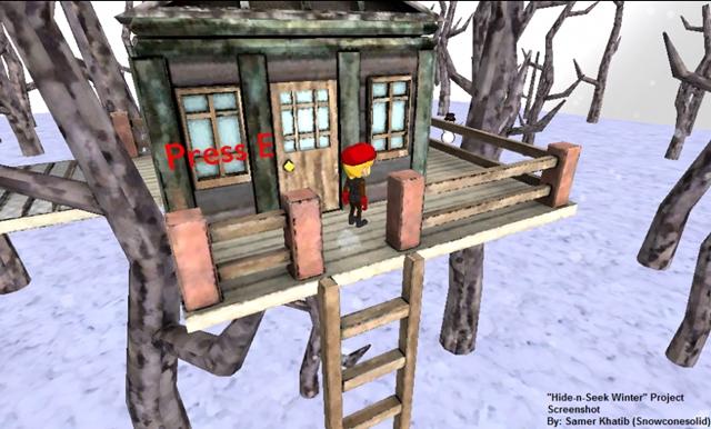 Hide-n-Seek Winter - Imagem 1 do software