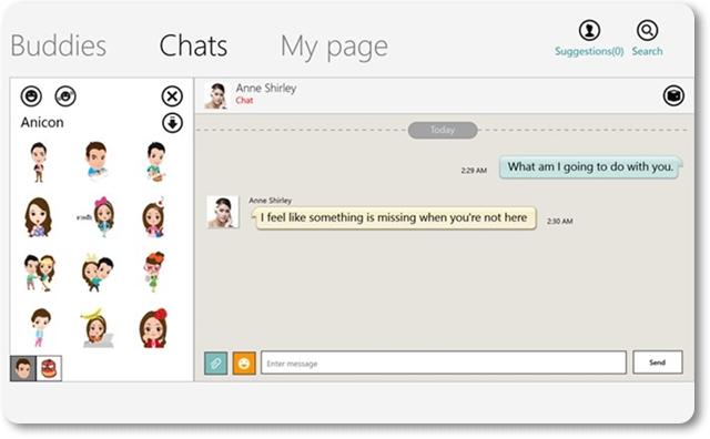 ChatON - Imagem 1 do software