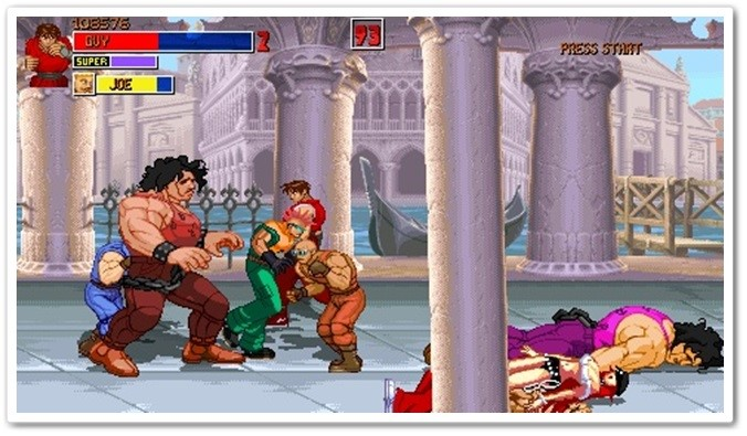 Final Fight Alpha.