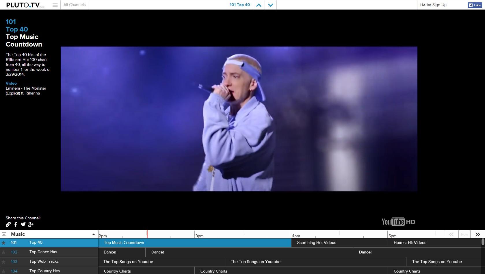 Pluto.tv - Imagem 1 do software