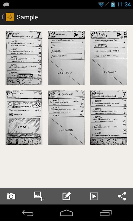 POP - Prototyping on Paper - Imagem 1 do software