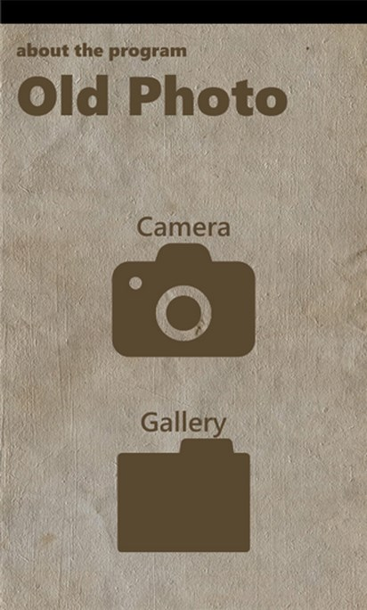 Old Photo - Imagem 1 do software