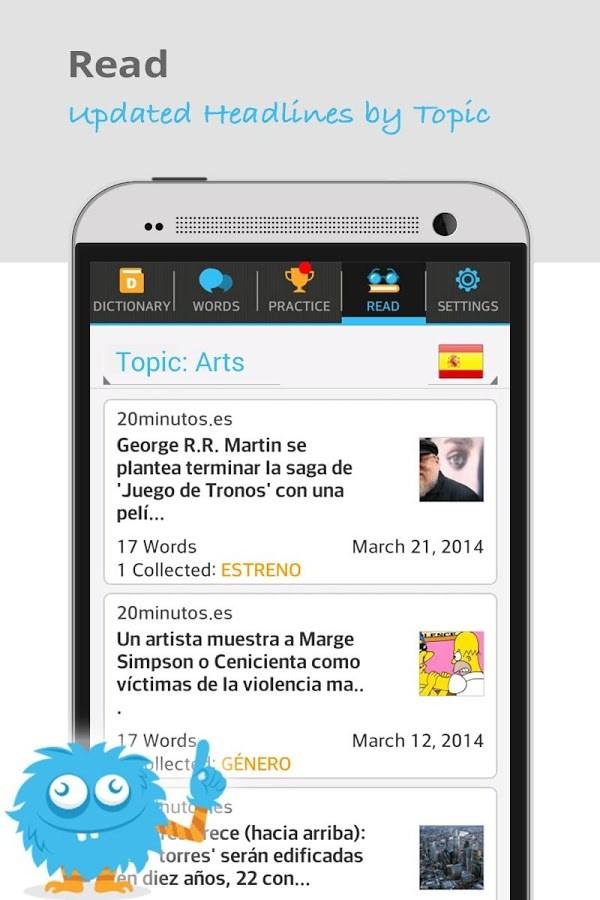 Lingua.ly - Colete palavras - Imagem 2 do software