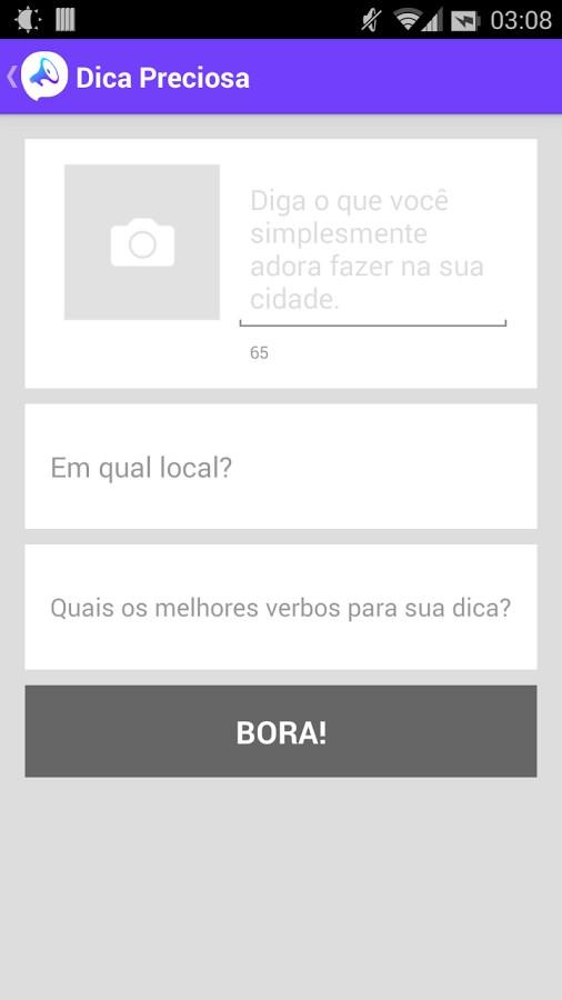 Bora Social - Imagem 2 do software