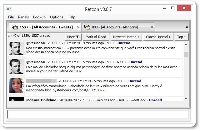 Retcon - Imagem 1 do software