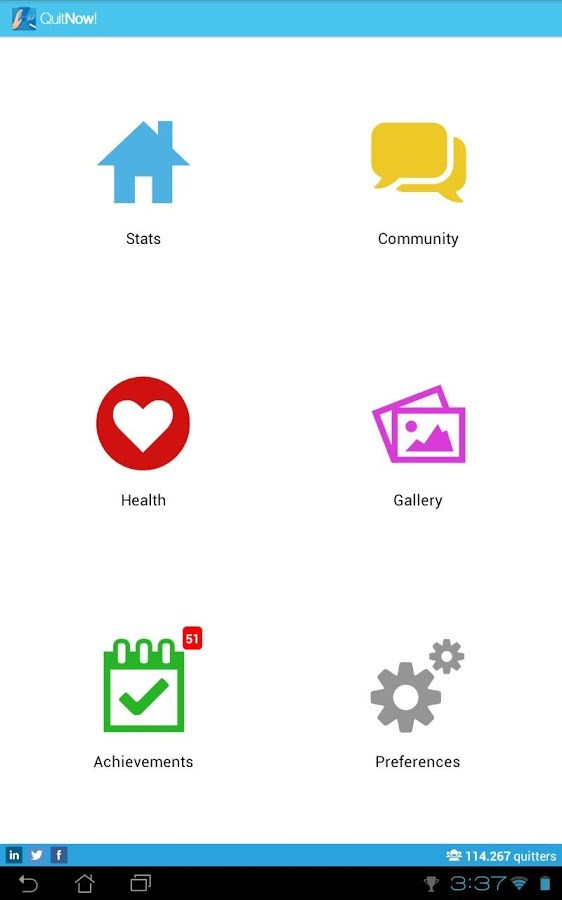Quit smoking - QuitNow! - Imagem 1 do software