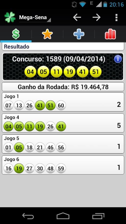 Loterias Mobile – Gratuito - Imagem 1 do software