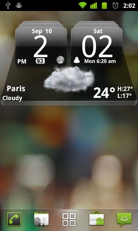 MIUI Dark Digital Weather CL. - Imagem 2 do software