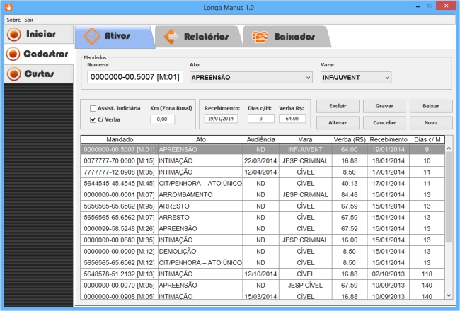 Longa Manus - Imagem 1 do software