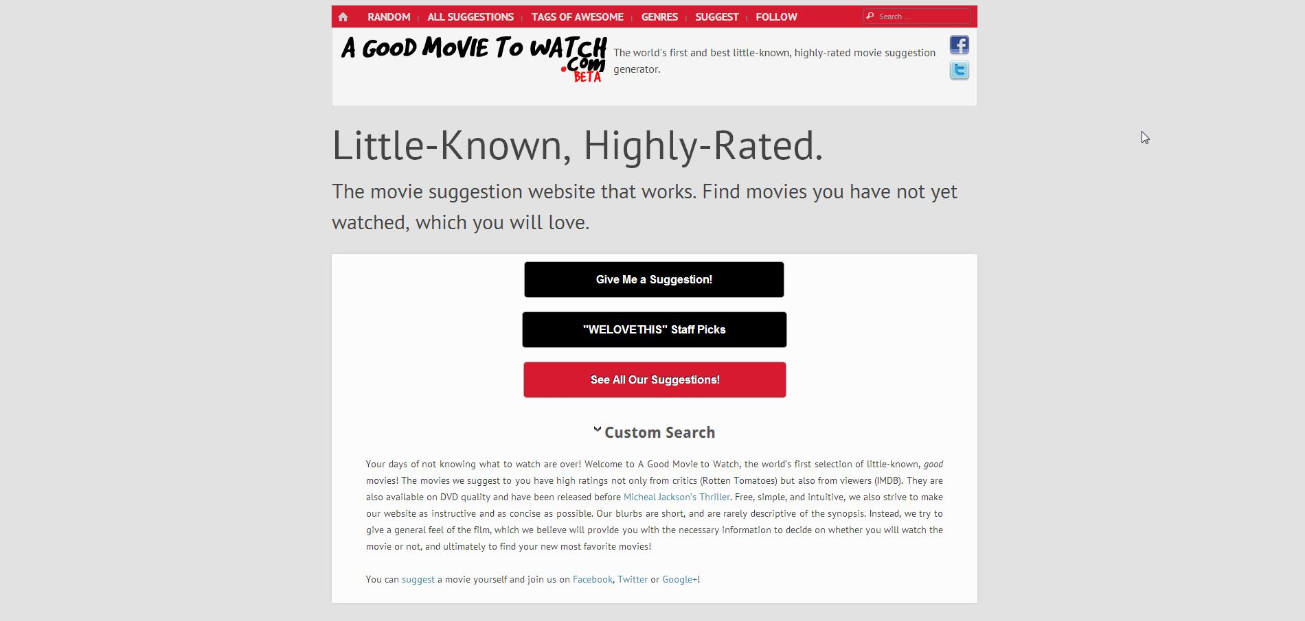 A Good Movie to Watch - Imagem 1 do software