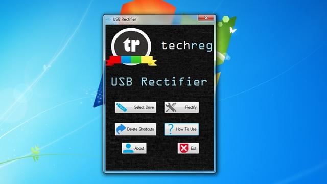 USB Rectifier - Imagem 1 do software