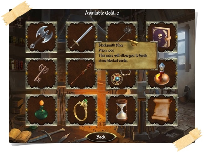 Legends of Solitaire - Curse of the Dragons Deluxe - Imagem 2 do software