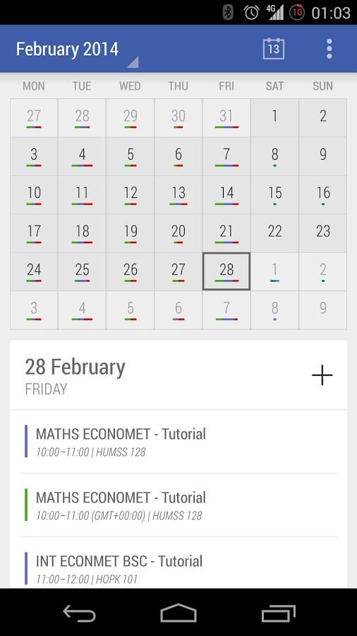 Today - Calendar - Imagem 1 do software