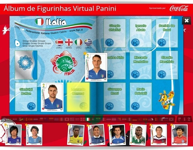 Álbum de Figurinhas Virtual Panini Copa do Mundo 2014 - Imagem 3 do software