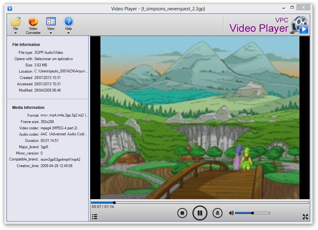 VideoPlayerConverter.