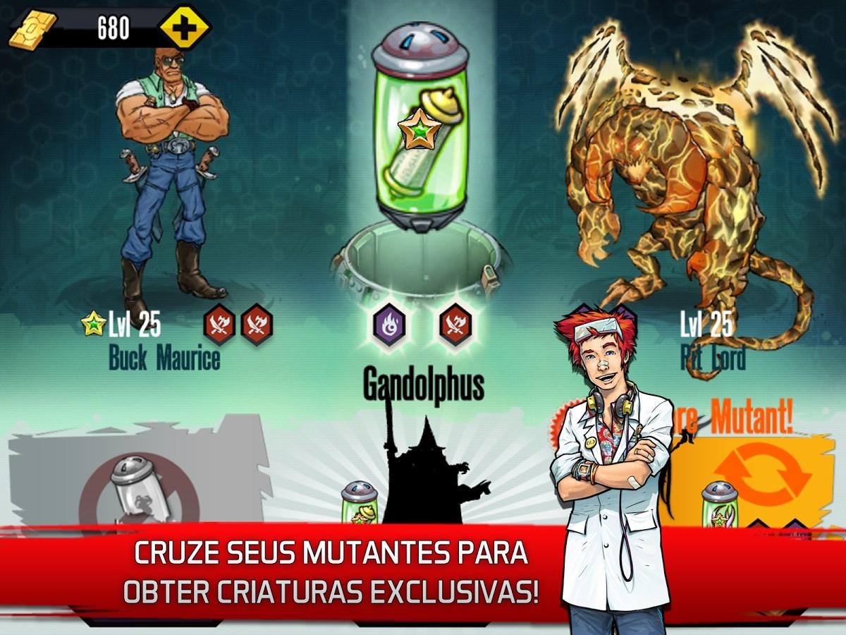 Mutants: Genetic Gladiators - Imagem 1 do software
