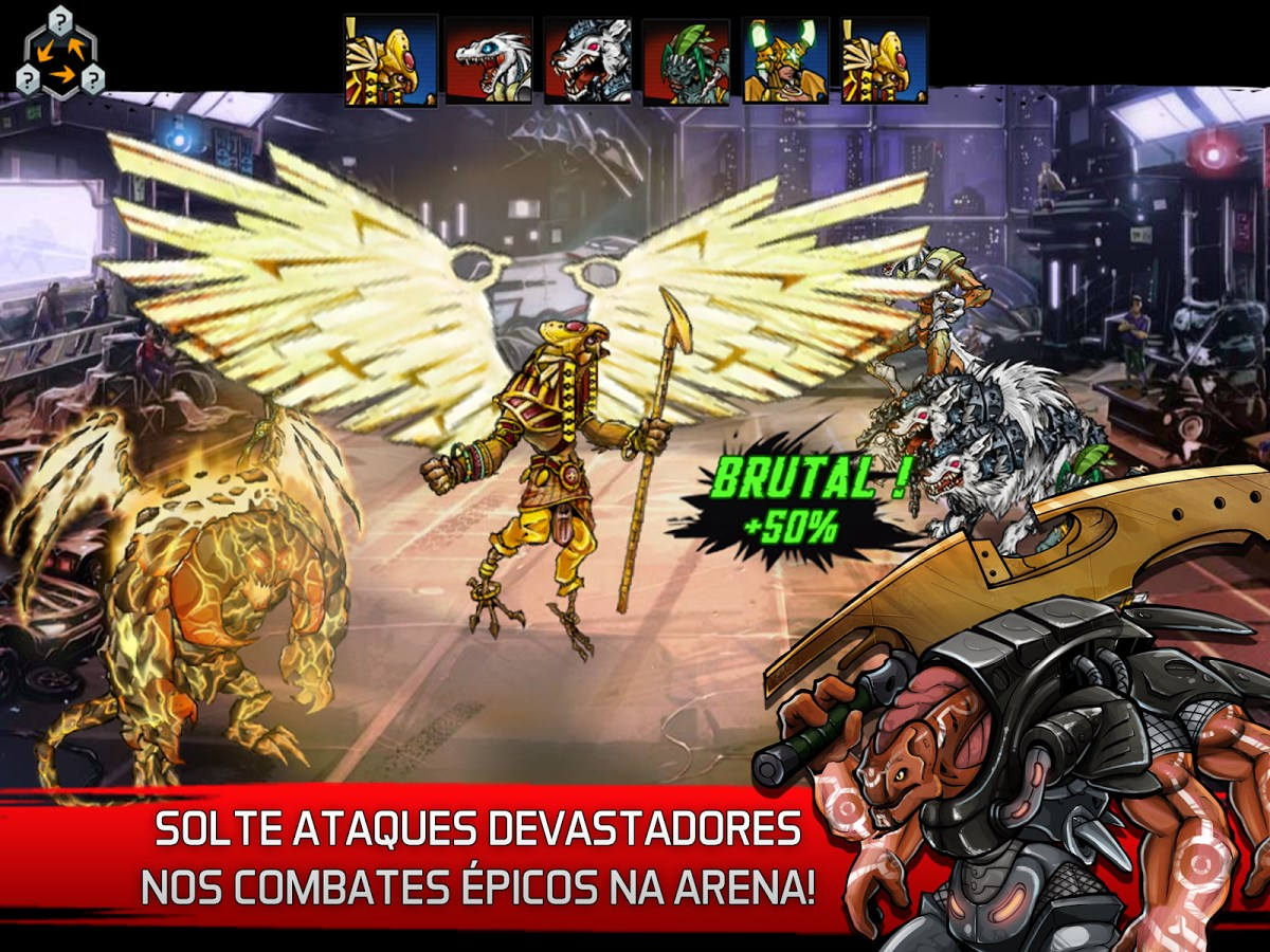 Mutants: Genetic Gladiators - Imagem 2 do software
