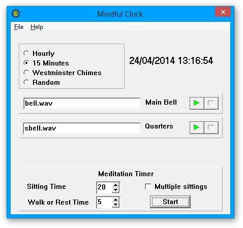 Mindful Clock