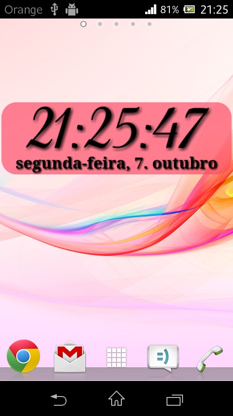 DIGI Clock Widget - Imagem 1 do software