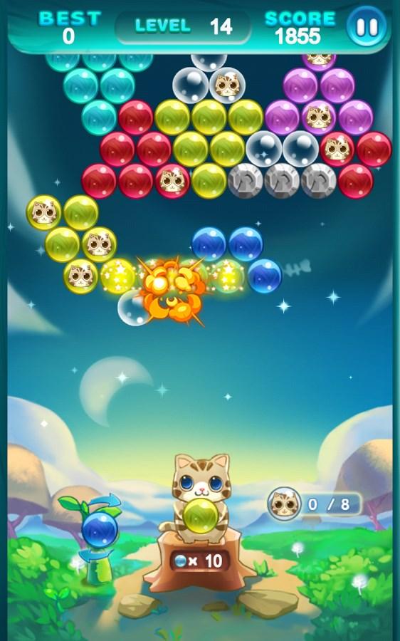 Bubble Cat Rescue - Imagem 2 do software