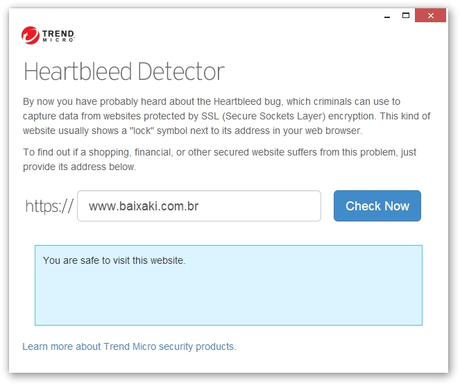 Trend Micro Heartbleed Detector