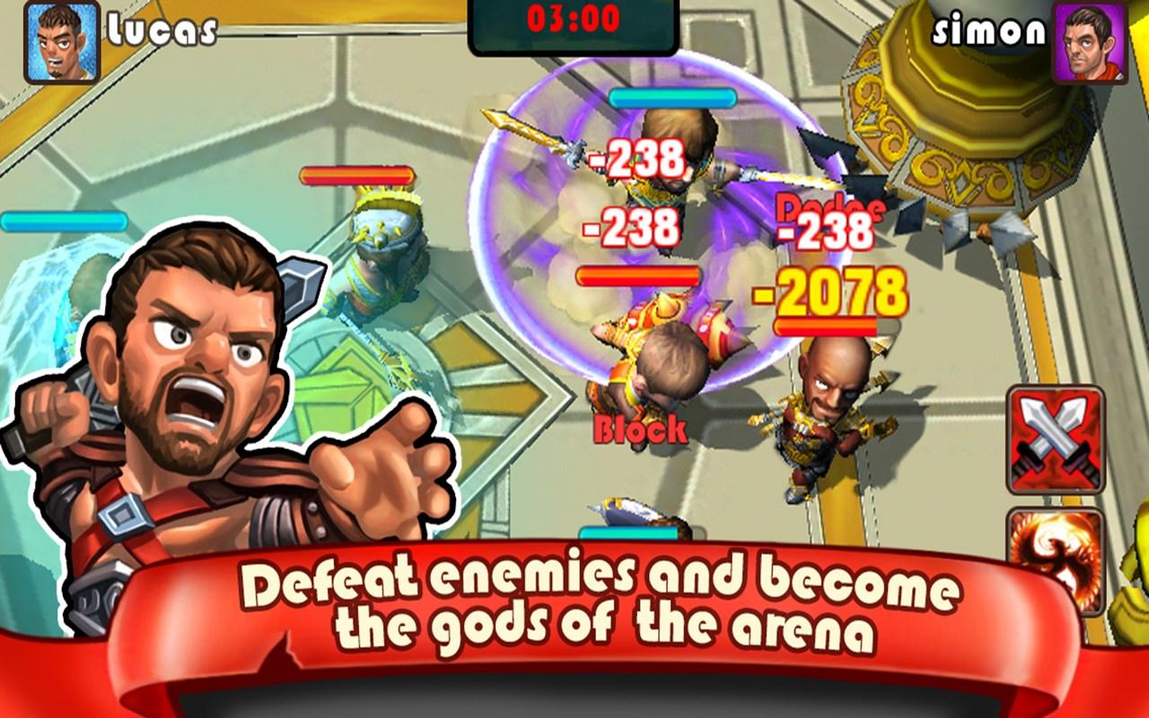Gladiators: Call of Arena - Imagem 1 do software