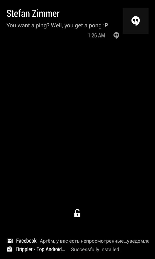 AcDisplay - Imagem 2 do software