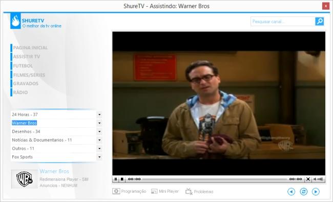 ShureTV - Imagem 2 do software