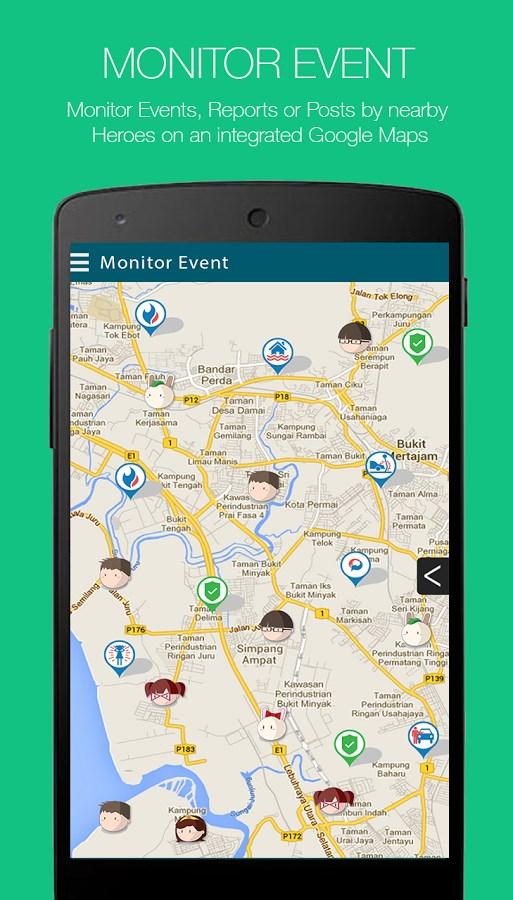 MYHERO -  Personal Safety App - Imagem 1 do software