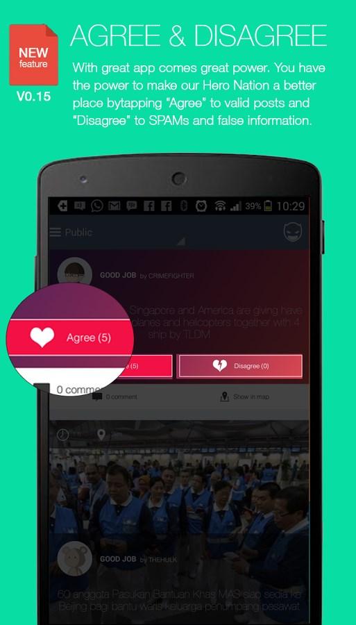 MYHERO -  Personal Safety App - Imagem 2 do software