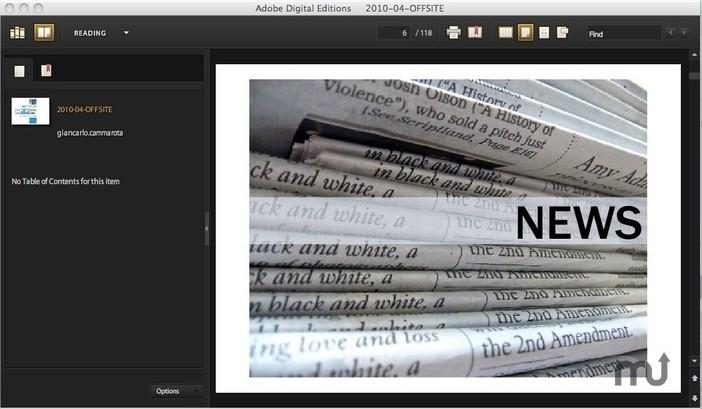 Adobe Digital Editions - Imagem 1 do software