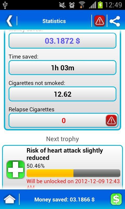 Stop! Quit Smoking - LITE - Imagem 2 do software