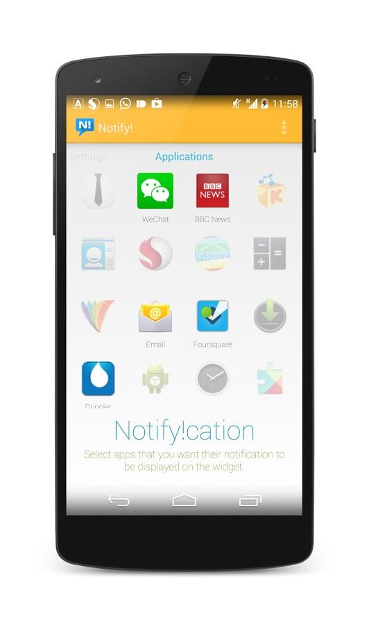 Notify! - Imagem 1 do software