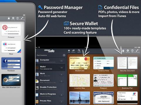 oneSafe - Imagem 1 do software