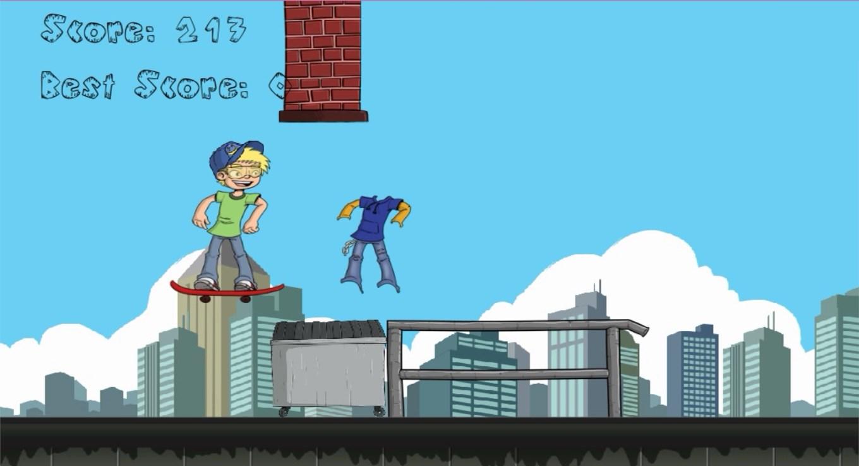 Jumpy Skater - Skateboard Boy - Imagem 1 do software