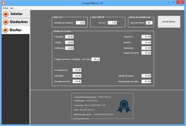 Longa Manus - Imagem 2 do software