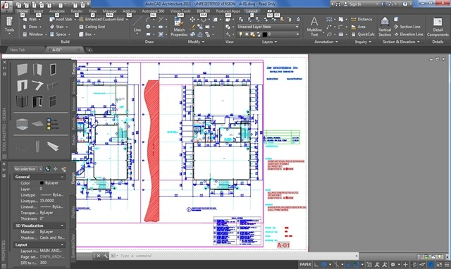 AutoCAD Architecture 2015.
